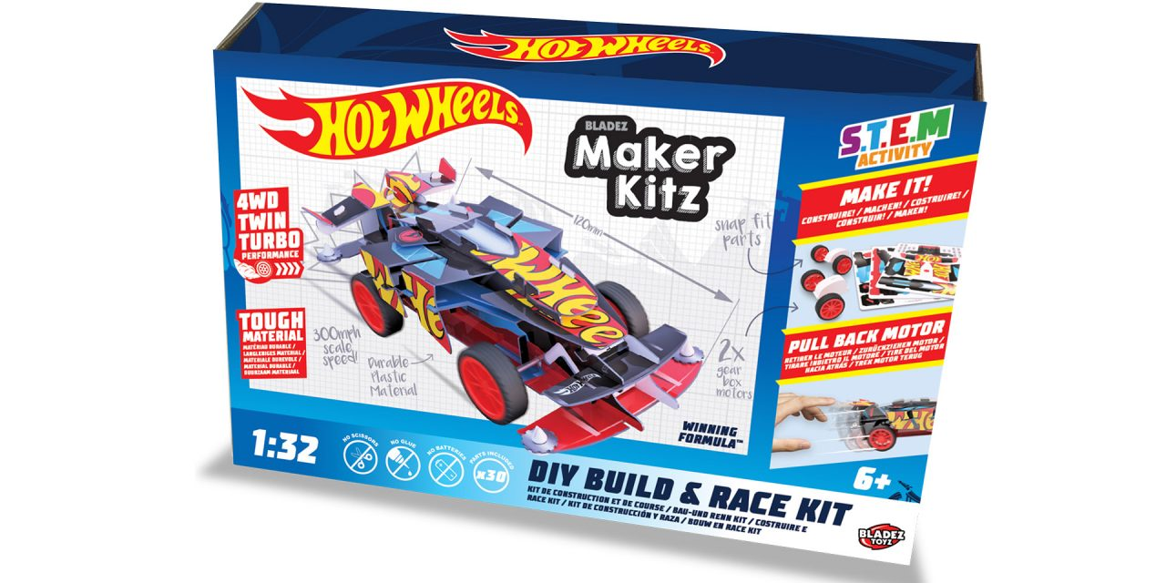 Hot Wheels Maker Kitz – Toy Review