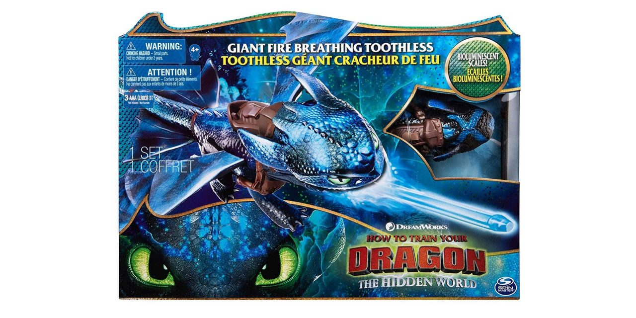 Fire Breathing Toothless – Toy Review