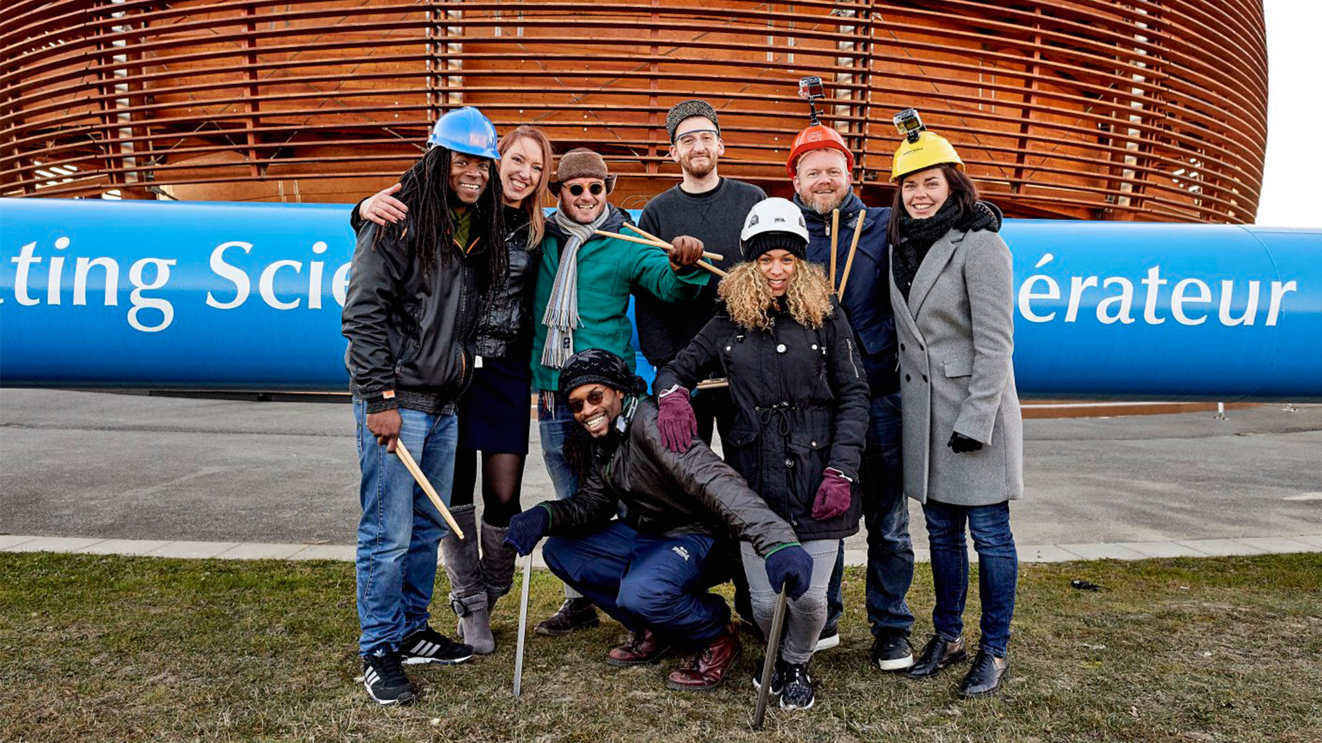 STOMP Visit CERN and Stomp the Universe