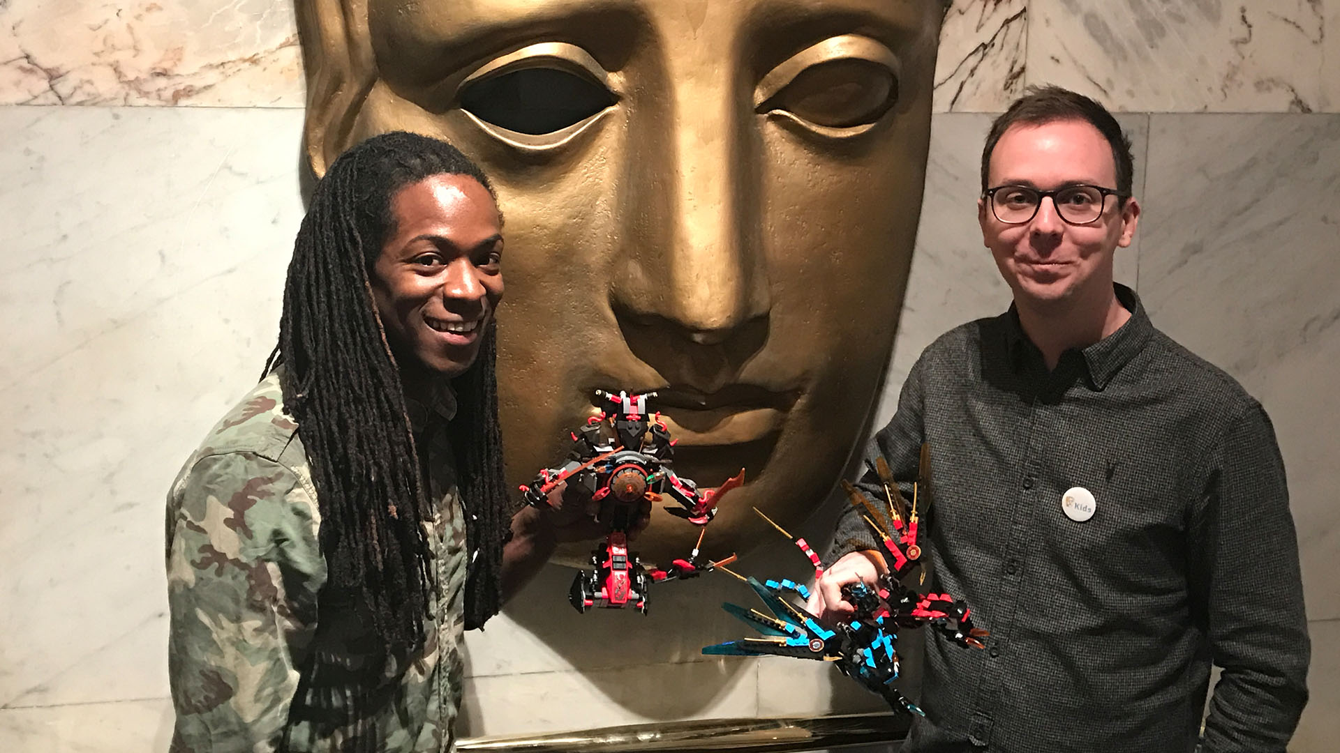 LEGO NINJAGO BAFTA Preview Screening - Nigel Clarke & Simon Lucas
