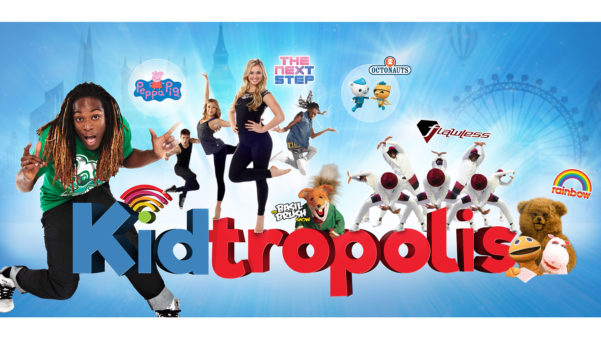 Win Tickets to Kidtropolis 2017 - Nigel Clarke TV Presenter