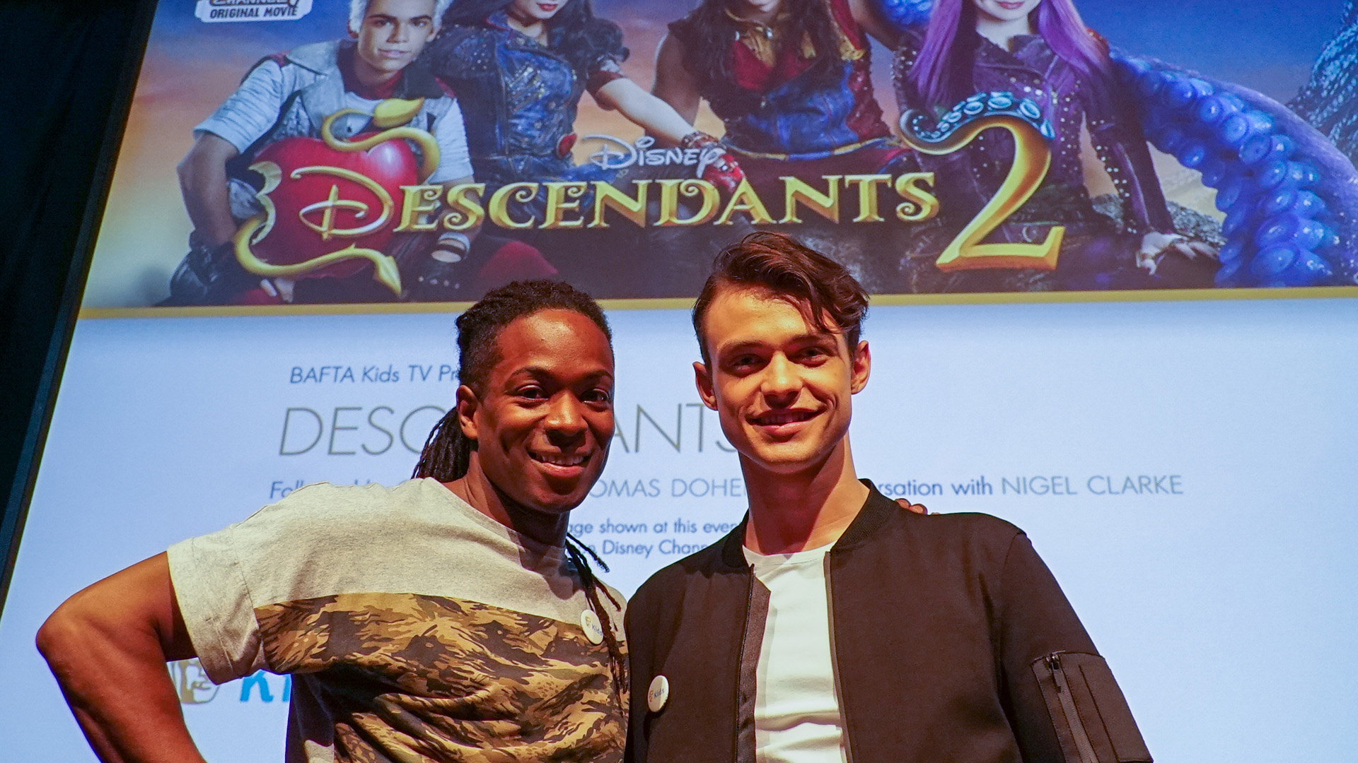 Descendants 2 BAFTA Preview - With Nigel Clarke and Thomas Doherty