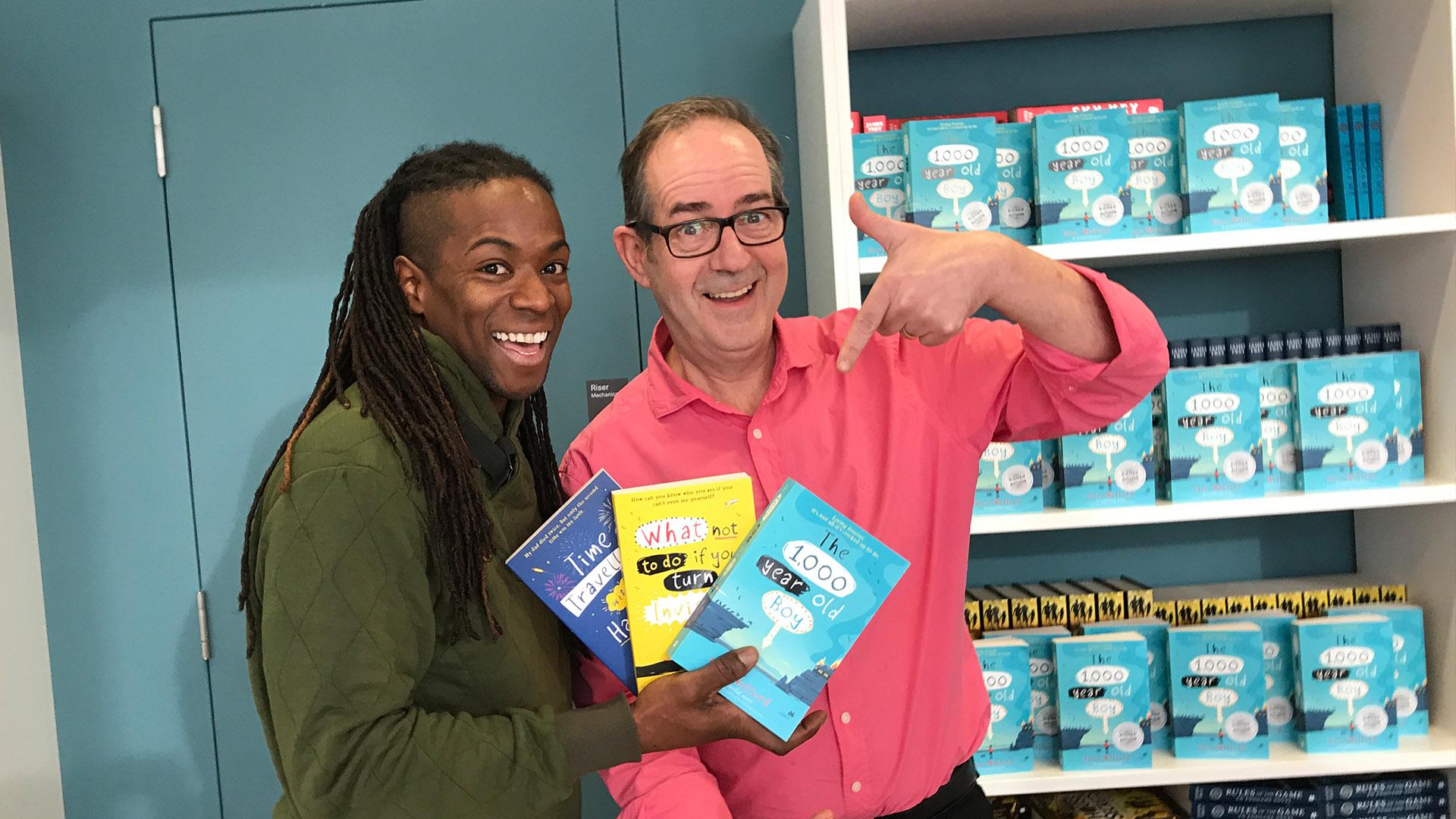 Nigel Clarke meets Children's Author Ross Welford