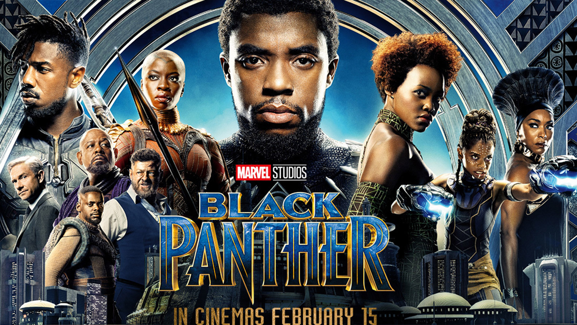 Marvel's Black Panther Film Review - Movie poster