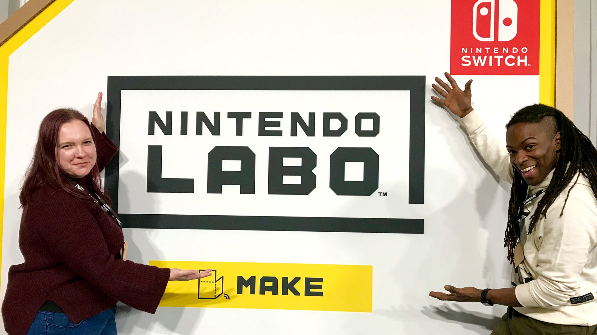 What is Nintendo LABO? by British TV Presenter Nigel Clarke