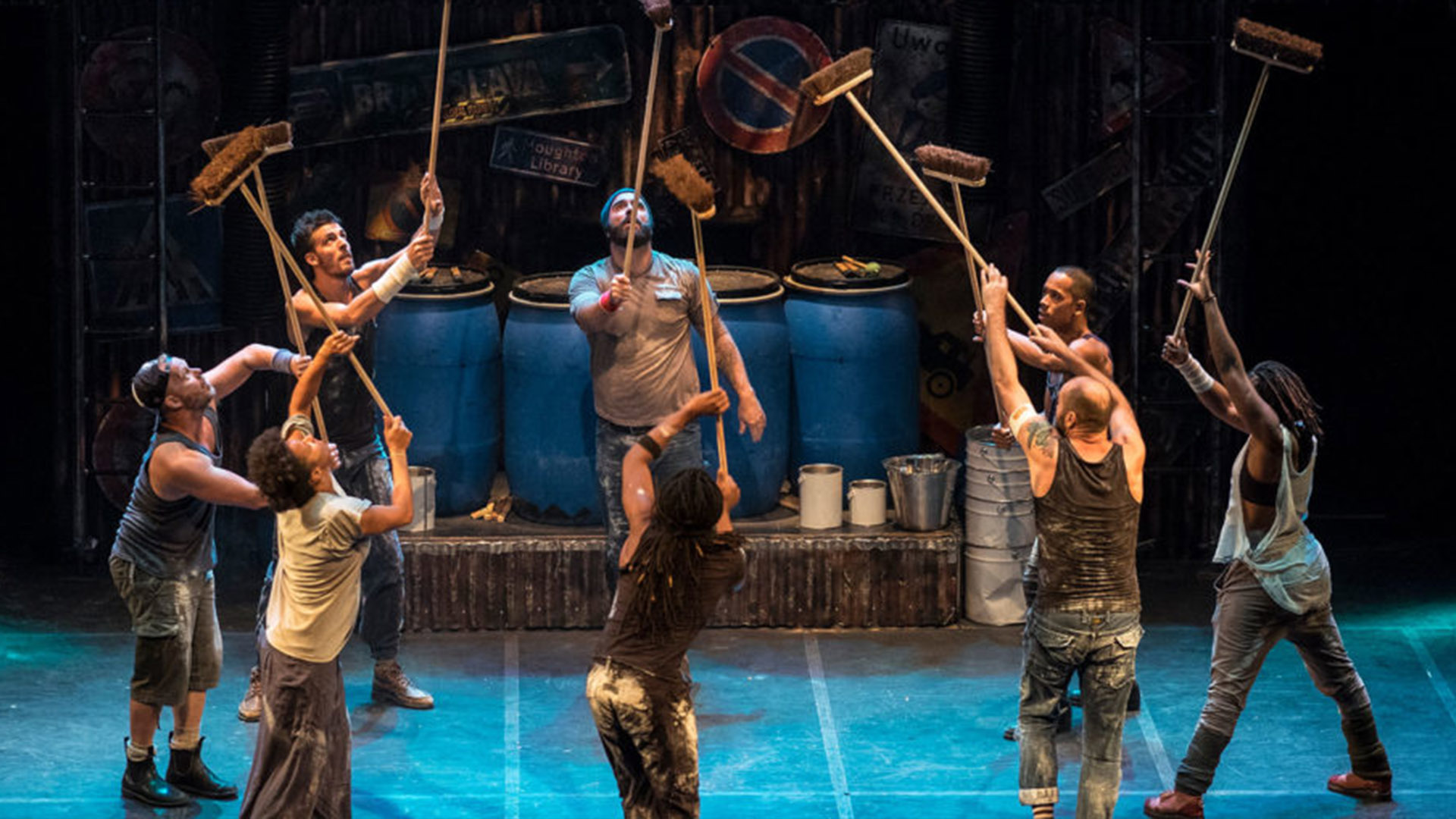 See STOMP in Birmingham competition terms and Conditions