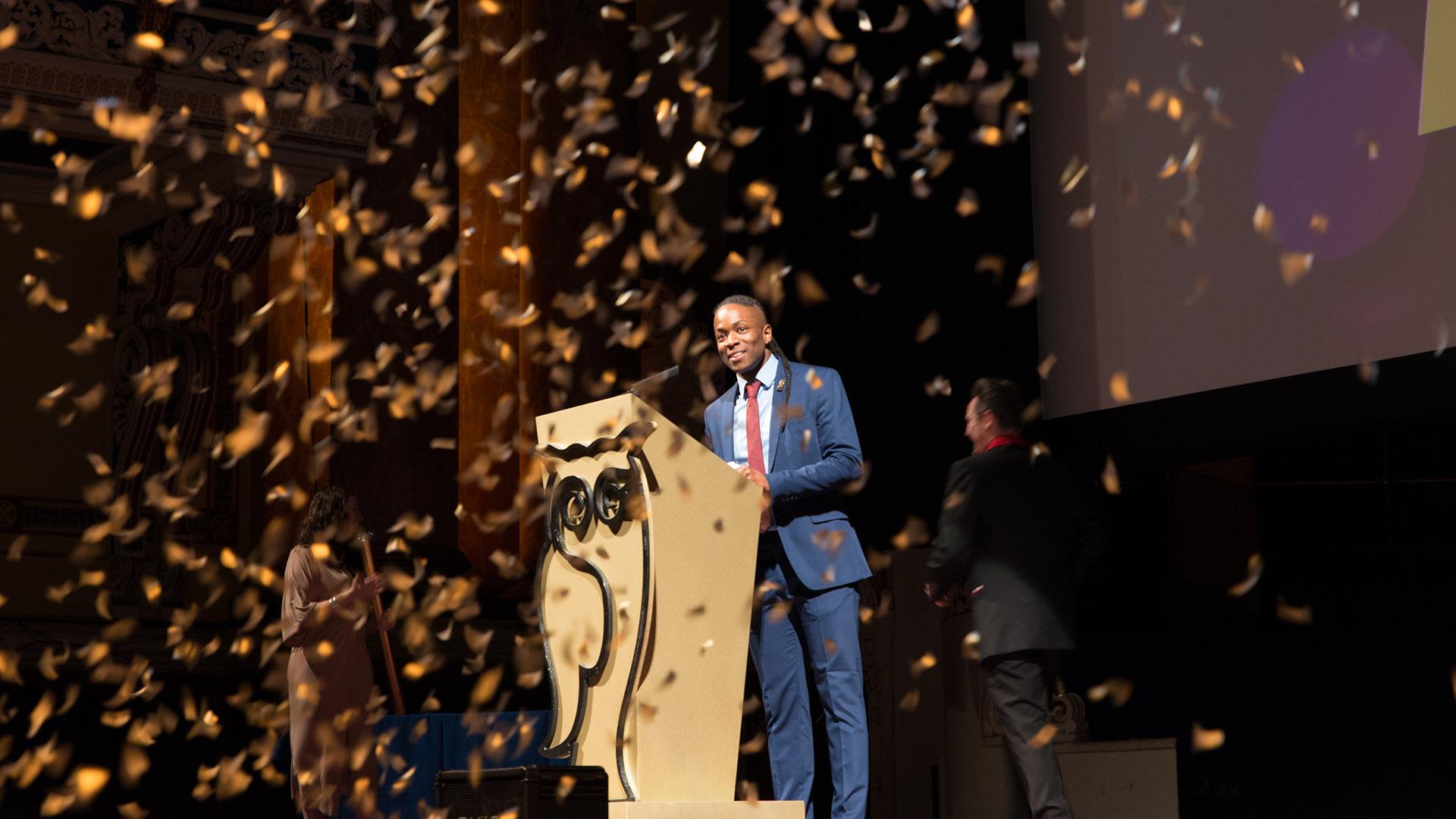 Golden Owls Awards 2018 - Host Nigel Clarke