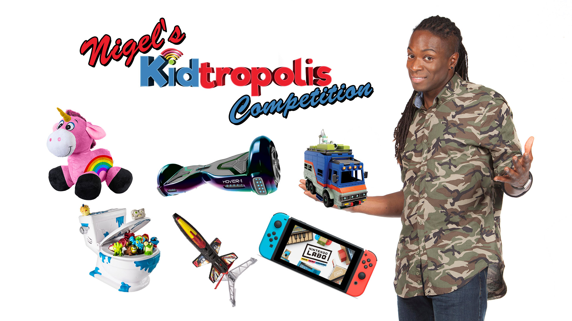 Nigel's Kidtropolis Toy Competition