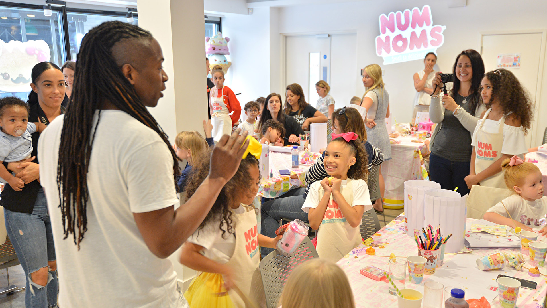 Num Noms Series 5 Launch Party London. Photo Credit: Jake Darling