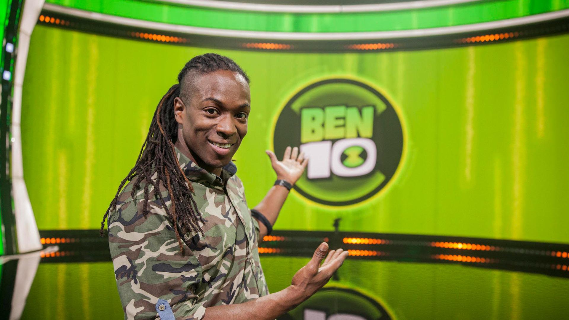 Host of Ben 10 Challenge UK - Nigel Clarke British TV Presenter